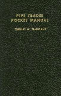 pipe trades pocket manual thomas w frankland paperback $ 23
