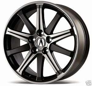 2012 Acura TL 19 Inch 10 Spoke 2 Tone Wheels Set 4