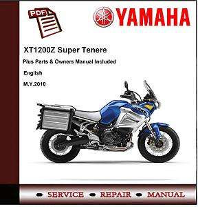 Yamaha XT1200Z XT1200 Z Super Tenere 2010 Workshop Service Manual