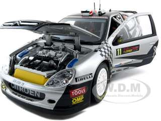 Brand new 1:18 scale diecast car model of Citroen Xsara WRC #11 P