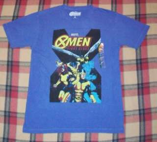 vintage style X MEN FIRST CLASS t shirt NEW MARVEL COMICS Spiderman