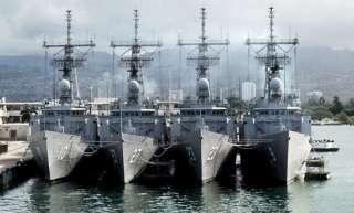 USS John A Moore FFG 19 US NAVY HAT PIN VIETNAM
