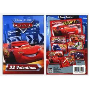 Cars Valentines Day Cards Toys & Games