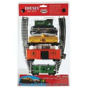 Model Power   Diesel BN Starter Train Set, HO Scale