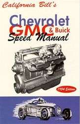CHEVROLET, GMC & BUICK SPEED MANUAL 228 248 256 320 270