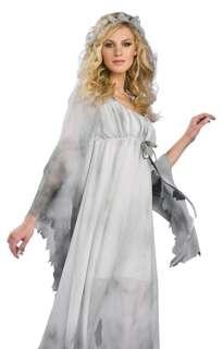 Mens Ghost Groom Gentleman Scary Halloween Costume 721773639500