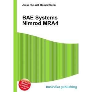 BAE Systems Nimrod MRA4: Ronald Cohn Jesse Russell: Books