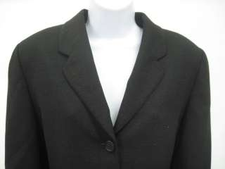 ANTONIO FUSCO Black Wool Jacket Blazer Pants Suit Sz L