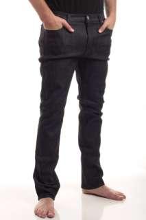 Fallen Mens Barrid Slim Fit Jeans Size 34x34 Dark Denim