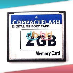 High Speed 2GB Compact Flash CF Memory Card 2G 2 GB
