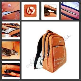 Travel Bag Backpack for HP Dell Sony IBM Laptop orange