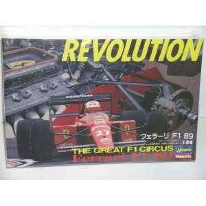 Hasegawa Ferrari F1 89 Race Car Plastic Model Kit