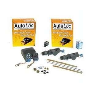 By Autoloc Remote Shaved Door Kit W/ Actuators