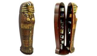 Egyptian King Tutankhamen Sarcophagus cabinet Life Size
