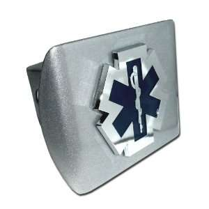 Emergency Medical Services Brushed Silver with Chrome Plated EMS EMT