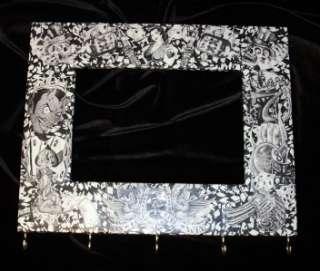 TatsMySkull   Skull Tattoo Art Frame & Key Hooks