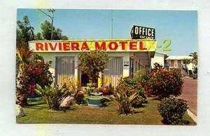 New Riviera Motel 372 Broadview Chula Vista CALIFORNIA