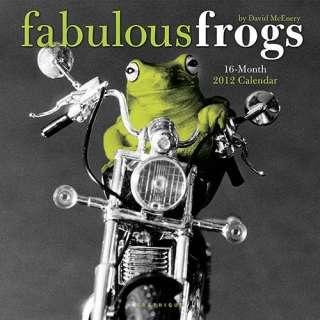 Fabulous Frogs 2012 Wall Calendar 0767172604