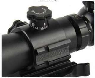 9X42 COMPACT TACTICAL RIFLE SCOPE Red Green Blue ILLUMINTAED