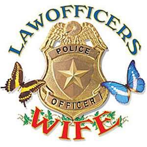 Police Officers Wife T Shirt Law Officer Tee Hoodie Sweatshirt Cop