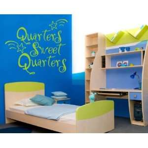 Sweet Quarters Patriotic Vinyl Wall Decal Sticker Mural Quotes