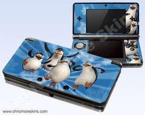 Nintendo 3DS Skin Vinyl Decal   Madagascar Penguins #1