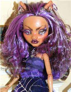 Lupa~Ooak Monster High She Wolf~Dressed