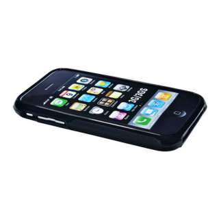 TPU Rubber Soft Gel Hard Case Cover S Shape for iPhone 3 3S 3G