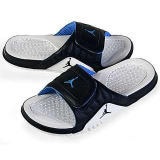 NIKE JORDAN HYDRO V PREMIER MENS Size 9 Obsidian Sandals Slides