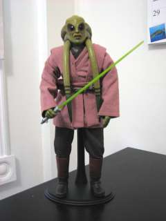 "KIT FISTO** 1/6 12"" STAR WARS SIDESHOW TOYS REVENGE OF THE SITH"
