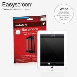 iPad 3 / 3rd Generation (1 x Screen Protector)   WHITE border colour