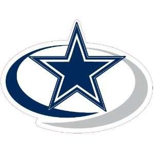 Dallas Cowboys Team Auto Window Decal (12 x 10  inch
