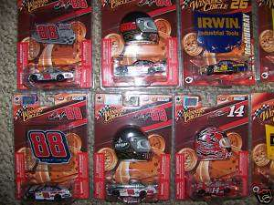 QTY 11 1/64 NASCAR DIECAST WINNERS CIRCLE WITH MAGNETS