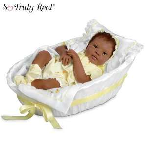 Realistic African American Baby Doll: Makayla Grace: Toys