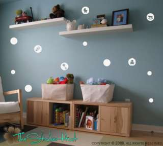Baby Bubbles Vinyl Art Graphic Wall Stickers Decals 519