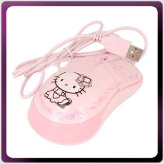 Hello Kitty USB PC Computer Laptop Optical Mouse KT0042