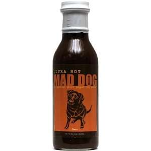 Mad Dog, Ultra Hot, Ghost Pepper BBQ Sauce  Grocery