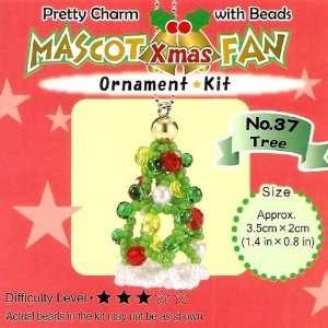 Your Own Miyuki Mascot Bead Charm Christmas Ornament Kit   Xmas Tree