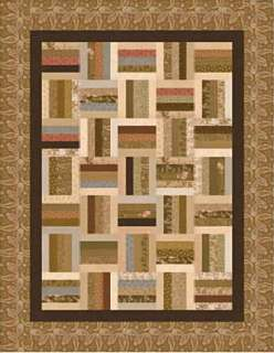 Simple Jelly Roll Quilt Pattern Free Quilt Pattern