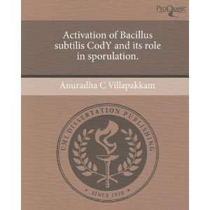 Activation of Bacillus subtilis CodY and its role in