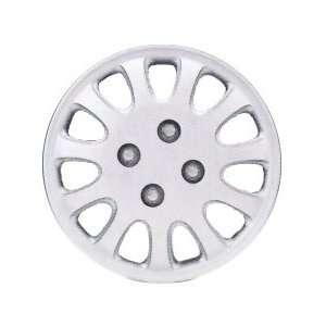 Drive Accessories KT842 14SL PC 14 Inch Plastic Wheel Cover, Silver