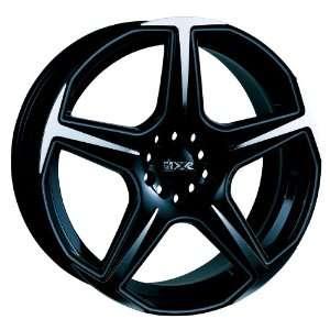 17x7 XXR 519 (Black / Machined) Wheels/Rims 4x100/114.3