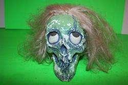 Disney Randotti Green Glow In The Dark Skull Souvenir Disneyland Magic