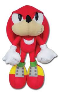 Sonic The Hedgehog Classic Knuckles Plush   GE7090