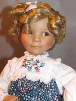 Knowles Porcelain Goldilocks Doll by Dianna Effner 1989 w/Original