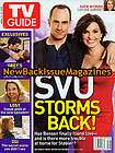 Christopher Meloni, Mariska Hargitay TV GUIDE feature