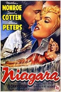 Vintage Movie POSTER.Marilyn Monroe.Niagara.Decor.752