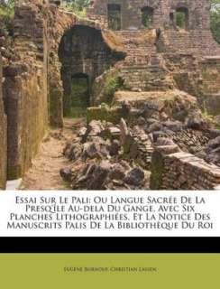 Essai Sur Le Pali by Eug Ne Burnouf, Nabu Press