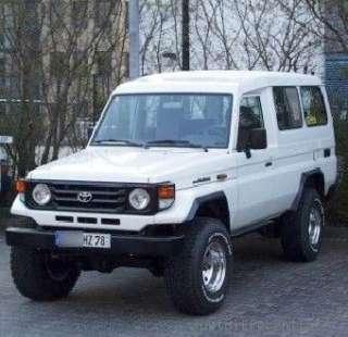 99 09 Toyota Landcruiser HZJ78 8 inch Mini Install Kit