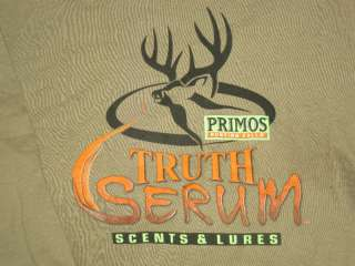 Long S Tshirts Truth Serum NWT Turkey Deer Archery Hunting 2XL